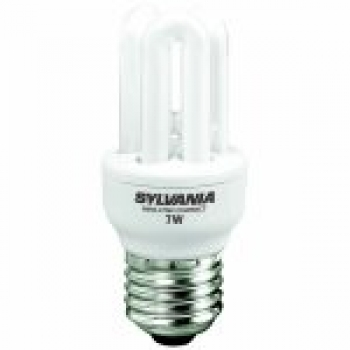 Havells Sylvania ML Compact Fast-Start T2 Energiesparlampe 7W/827/E27 MiniLynx FastStart