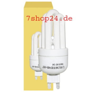 Energiesparlampe, G9/230V/9W-827