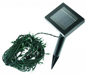 Solar LED-Lichterkette mit 50 LEDs