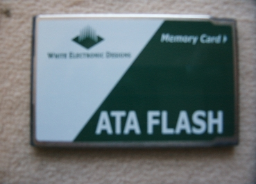 Aastra DeTeWe OpenCom 1000 PCMCIA Memory FlashCard 256 MB OpenCom 1100, 1200 und 1300