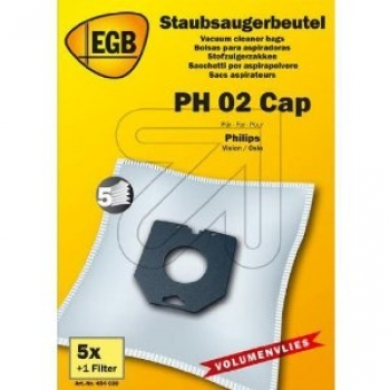 EGB Staubsaugerbeutel PH02 CAP Philips Vision / Oslo PH84