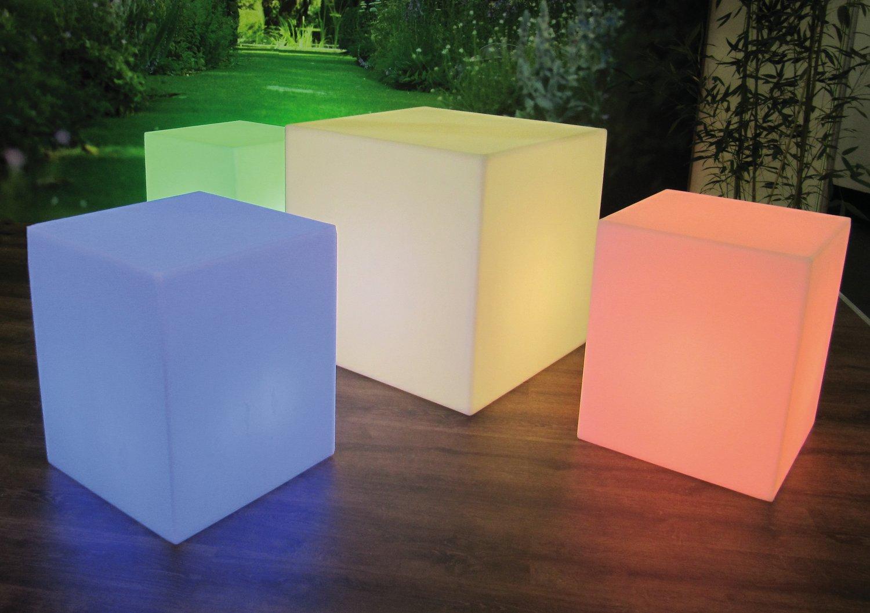 7shop24.de - leuchtwürfel cubo 230v ac für e27-leuchtmittel