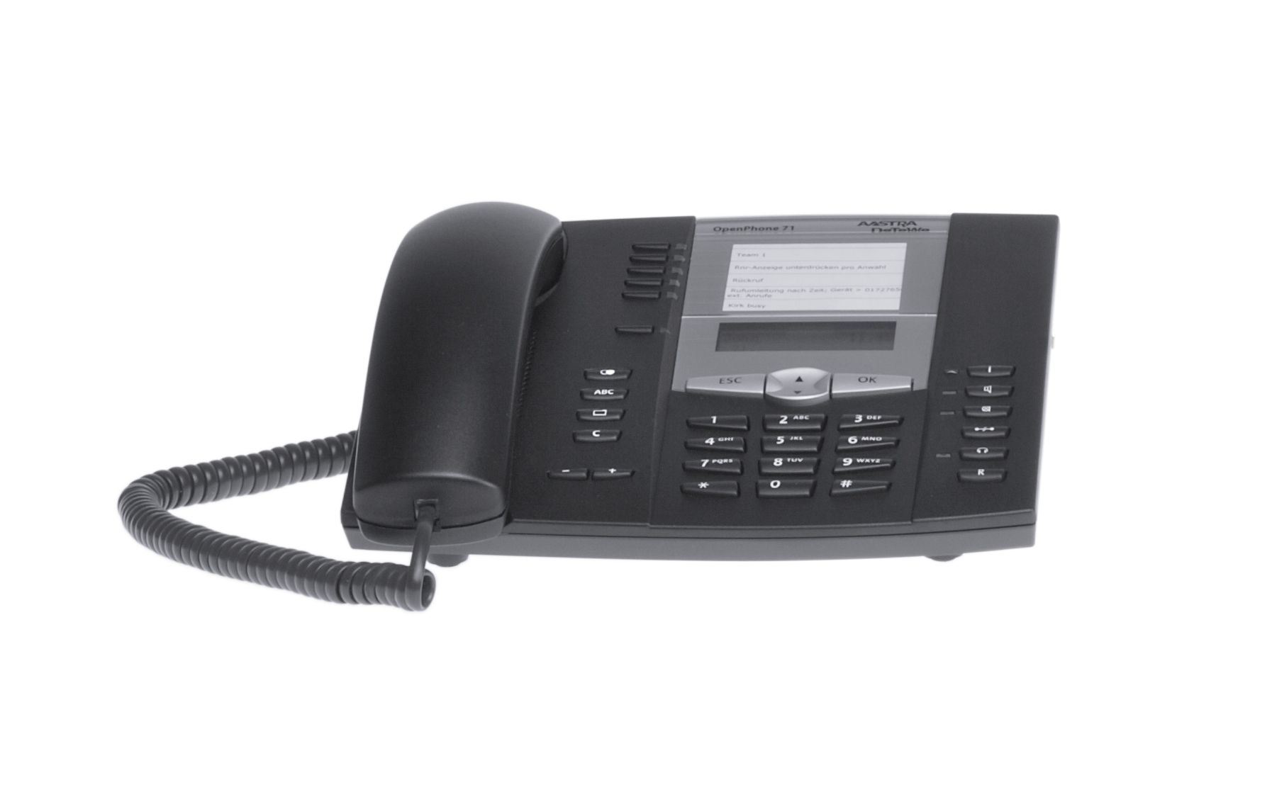 Aastra DeTeWe OpenPhone 6771 1000 OpenPhone 71 Telefon für OpenCom 100