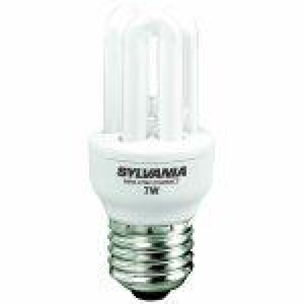 Havells Sylvania ML Compact Fast-Start T2 Energiesparlampe 5W/827/E27 MiniLynx FastStart