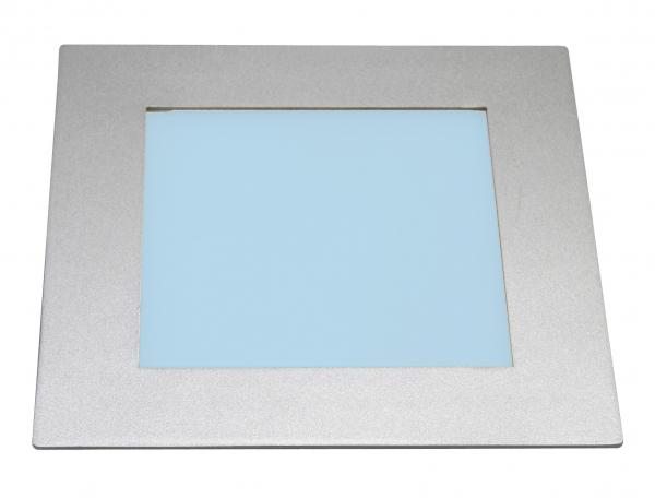 heitronic led panel deckeneinbau rgb farbwechsel 24 led 8w 184x184 mm. Black Bedroom Furniture Sets. Home Design Ideas