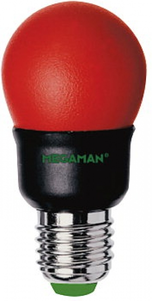 Party Color Energiesparlampe MEGAMAN ROT E27 7W - MM25019