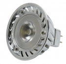 3 Watt Power LED Leuchtmittel GX 5,3/12V warmweiss 2900 Kelvin 70 Lumen MR16